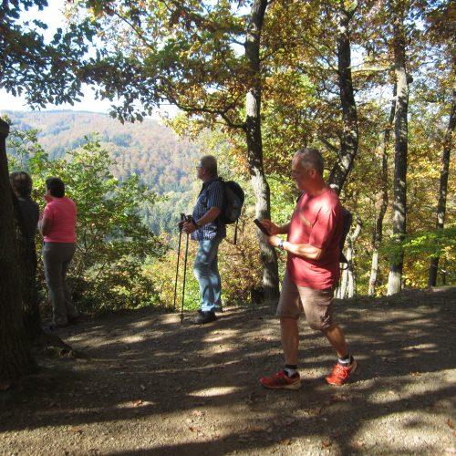 Herbstwanderung Traumschleife Elfenley