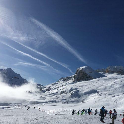 Skifahrt Südtirol