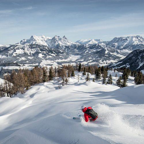Skifahrt Kitzbühler Alpen